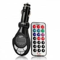 FM модулятор автомобильный M MOD. CM 011 с зарядкой для телефона от прикуривателя | ФМ модулятор трансмиттер