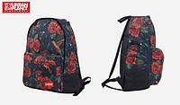 Городской рюкзак L QBIC Розы от Urban Planet, уличная одежда
