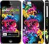 "Чехол на iPhone 5c Абстрактные цветы ""511c-23"""