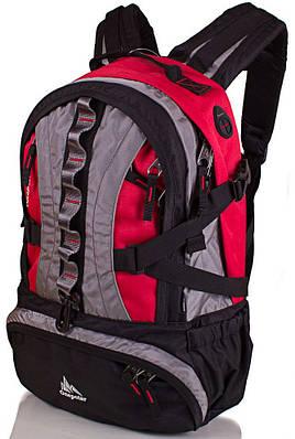 Каждодневный молодежный рюкзак 25 л. Onepolar W1003-red красный