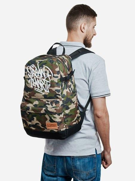 Рюкзак, CAMO TAG, сумка-рюкзак, рюкзак с рисунком