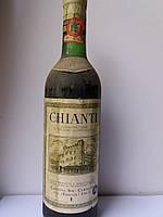 Вино 1972 года Chianti  Италия