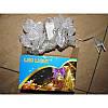 Гирлянда Сердечки 40 led на черном проводе 5,24м, фото 2