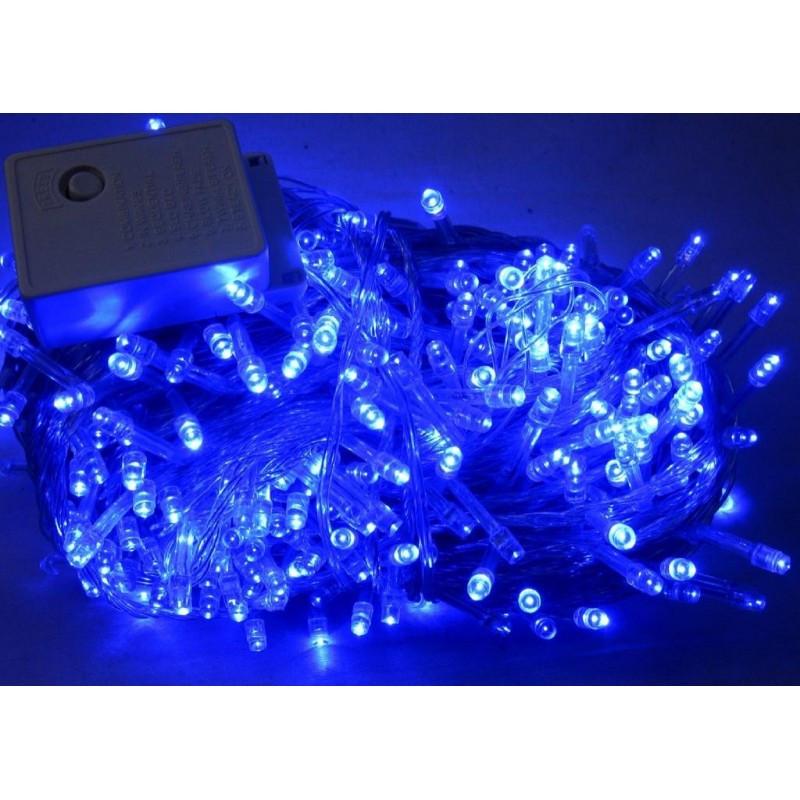 Светодиодная гирлянда Шторка 144 LED - 1,5x1,2м синий 8mm