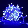 Светодиодная гирлянда Шторка 144 LED - 1,5x1,2м синий 8mm, фото 2
