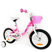 """Велосипед детский RoyalBaby Chipmunk MM Girls 14"""", OFFICIAL UA, розовый, фото 3"""