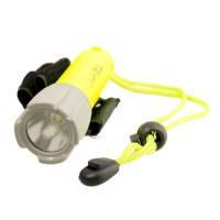 Подводный фонарь для охоты или дайвинга на аккумуляторе police PF 06-T6 / 98D, желтый,фонари, комплектующее