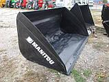 Новый оригинальный ковш Manitou, фото 4
