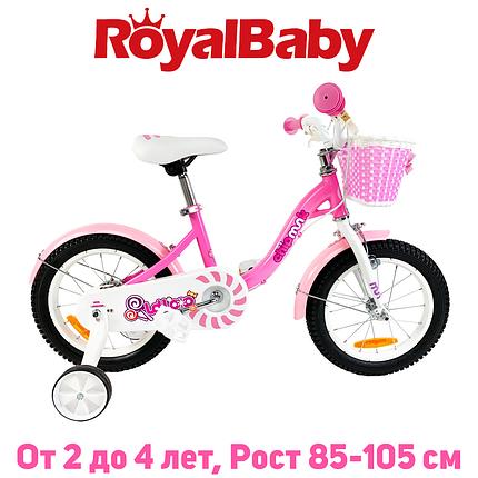 """Велосипед детский RoyalBaby Chipmunk MM Girls 12"""", OFFICIAL UA, розовый, фото 2"""