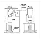 Механические весовые дозаторы для расфасовки сыпучих веществ в тару, пакеты и мешки дозами от 0,25 кг до 70 кг, фото 4