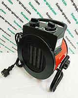 """Тепловий вентилятор (гармата) електрична """"Crown 3000 Вт"""".Керамічний."""
