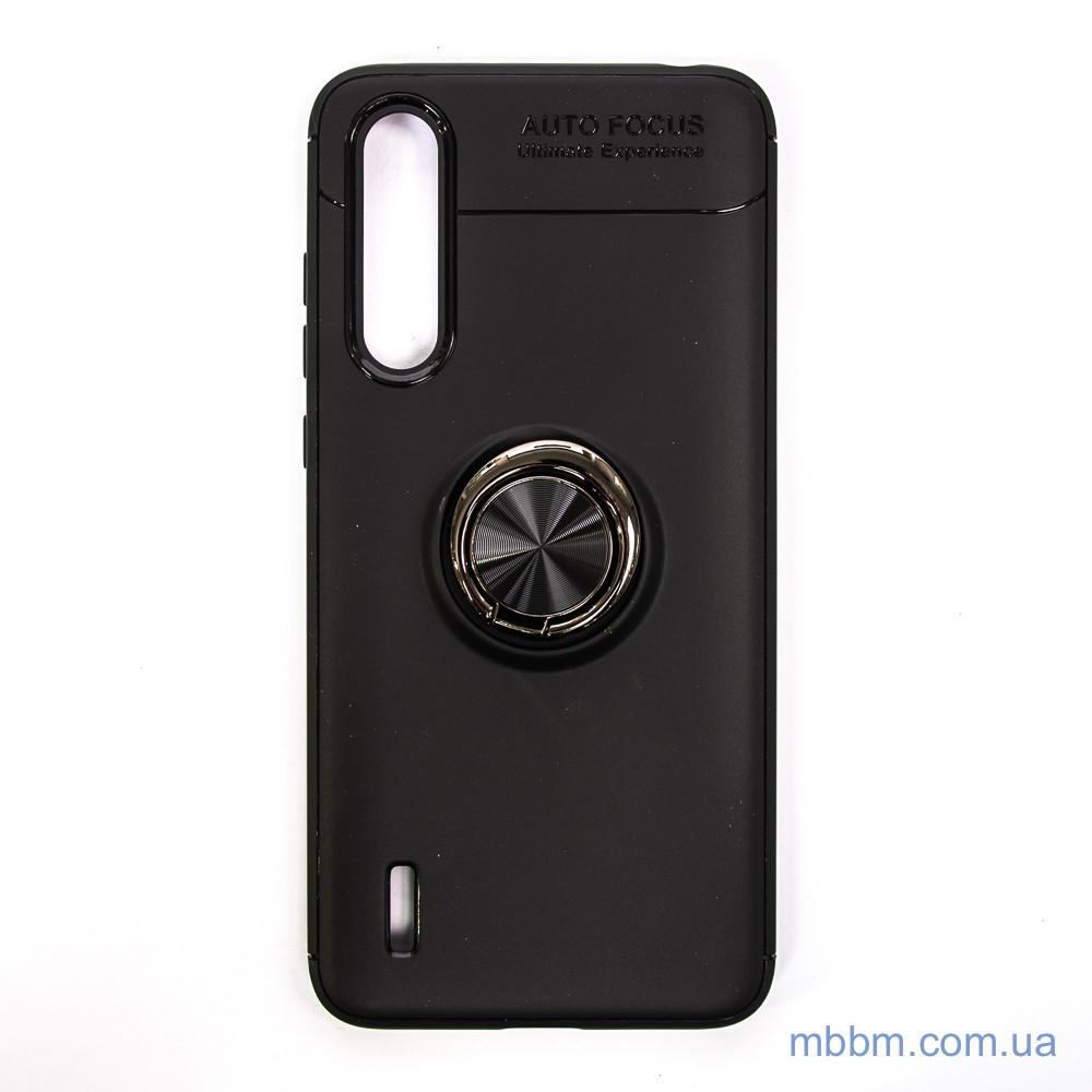 Чехол TPU Deen ColorRing с креплением под магнитный держатель Xiaomi Mi CC9 Black
