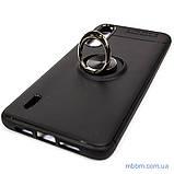 Чехол TPU Deen ColorRing с креплением под магнитный держатель Xiaomi Mi CC9 Black, фото 4