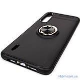 Чехол TPU Deen ColorRing с креплением под магнитный держатель Xiaomi Mi CC9 Black, фото 6