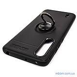 Чехол TPU Deen ColorRing с креплением под магнитный держатель Xiaomi Mi CC9 Black, фото 8
