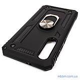Броньований чохол Serge Ring Xiaomi Mi 9 SE Black, фото 2