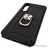 Броньований чохол Serge Ring Xiaomi Mi 9 SE Black, фото 4