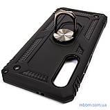 Броньований чохол Serge Ring Xiaomi Mi 9 SE Black, фото 8