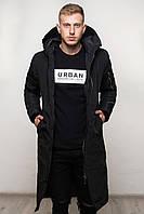 Парка мужская зимняя до -20*С | куртка пальто Х-black