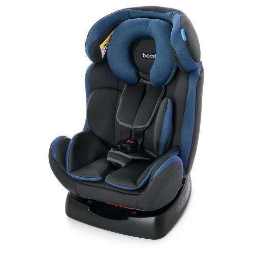 Автокресло детское M 3678 NAVY GRAY серо-синий