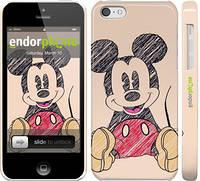 "Чехол на iPhone 5c Нарисованный Мики Маус ""2731c-23"""