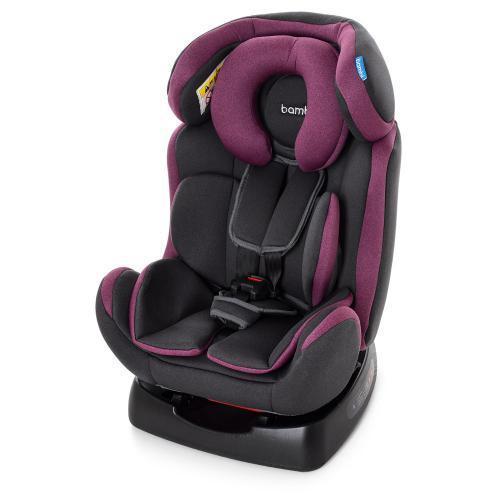 Автокресло детское M 3678 PINK GRAY серо-розовый