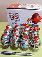 Шоколадное яйцо с сюрпризом, 24 яйца (25 г)