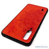Чохол TPU + Textile Mandala з 3D тисненням Xiaomi Mi CC9 Red, фото 4