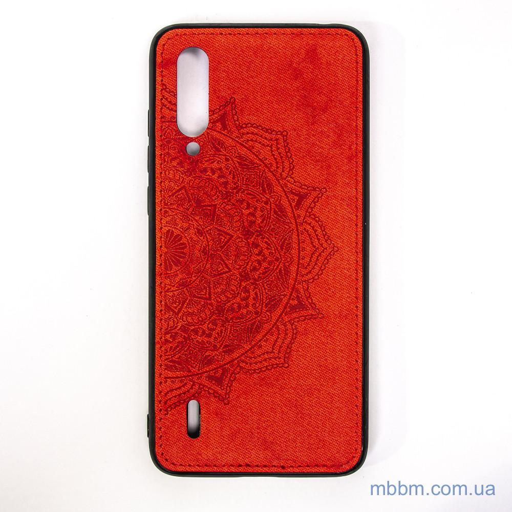 Чохол TPU + Textile Mandala з 3D тисненням Xiaomi Mi CC9 Red