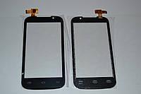 Оригинальный тачскрин / сенсор (сенсорное стекло) для Prestigio MultiPhone 3400 Duo (черный цвет, самоклейка)