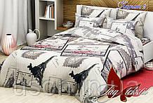 Комплект постельного белья ранфорс Тм Таg  Париж 2