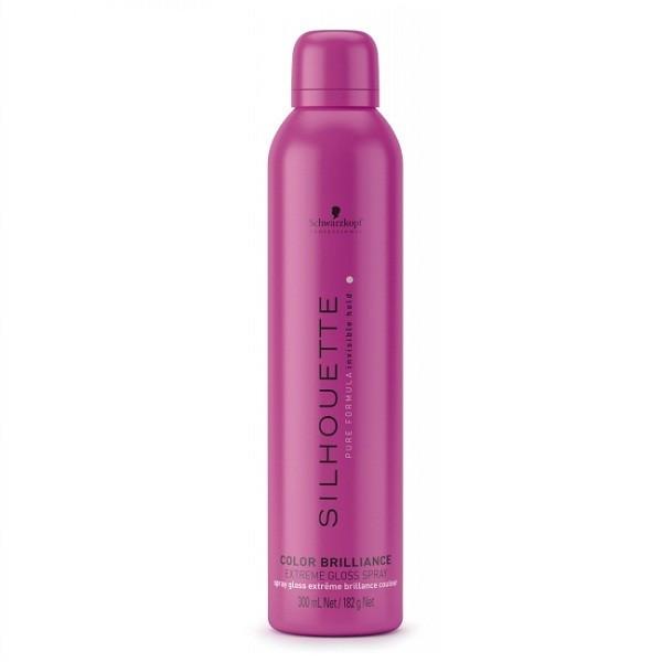 Спрей-блеск для окрашенных волос сильной фиксации Schwarzkopf Silhouette Color Brilliance Extreme Gloss Spray
