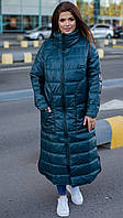 Женское Пальто с карманами БАТАЛ