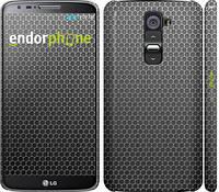 "Чехол на LG G2 Ячейки ""243c-37"""