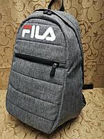 Большой Рюкзак мужской FILA меланжевый., фото 1