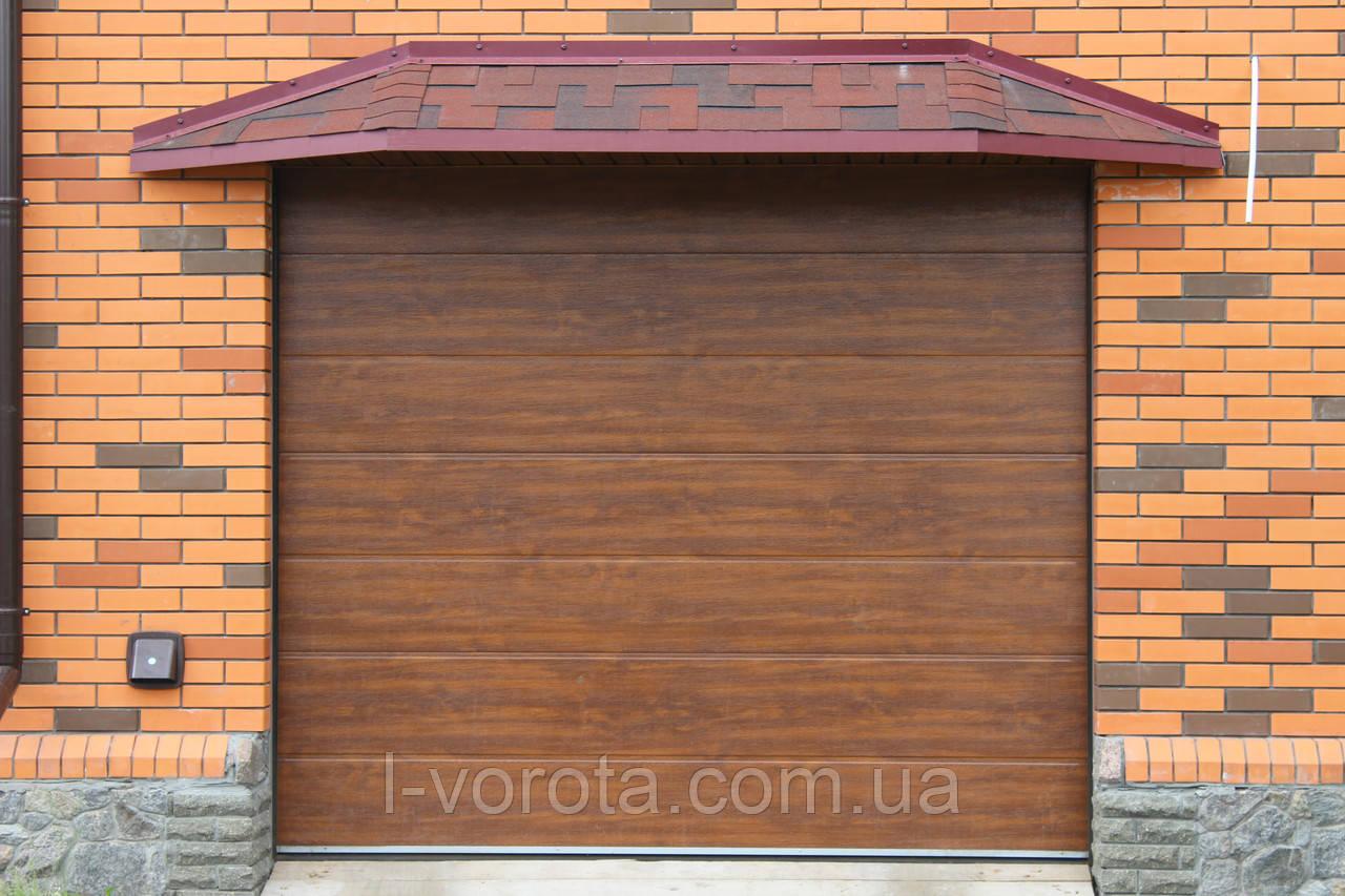 Секционные гаражные ворота DoorHan ш2500мм, в2000мм