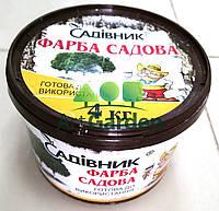 Садовая краска для деревьев Садовник 4 кг