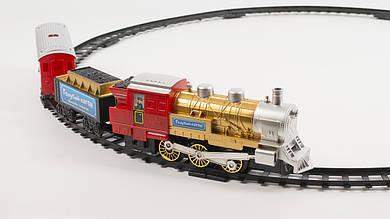 Железная дорога - Голубой вагон. С звуковыми и световыми эффектами