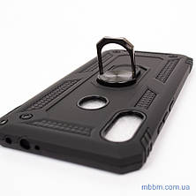 Ударопрочный чехол Serge Ring под магнитный держатель Xiaomi Redmi Note 7 Black, фото 2