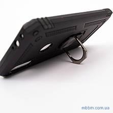 Ударопрочный чехол Serge Ring под магнитный держатель Xiaomi Redmi Note 7 Black, фото 3
