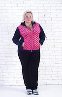 Костюм велюровый  женский с капюшоном 50-52 размер, фото 1