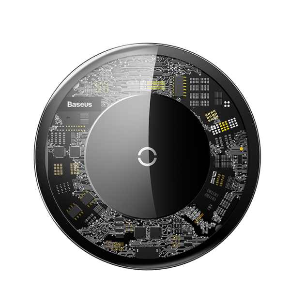 Бездротова зарядка Baseus 10W transparent 10 Вт