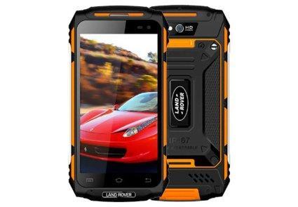 Захищений протиударний мобільний Land Rover X2 Max (Guophone X2) orange
