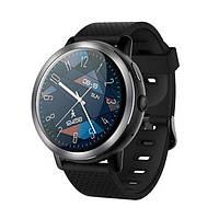 """Смарт годинник Lemfo LEM8 black, Екран 1,39"""" , 1 SIM 2G/3G/4G, камера 2Mp, GPS, крокомір, пульсометр, Android 7.1, фото 1"""