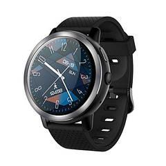 """Смарт часы Lemfo LEM8 black, Экран 1,39"""" , 1 SIM 2G/3G/4G, камера 2Mp, GPS, шагомер, пульсометр, Android 7.1"""