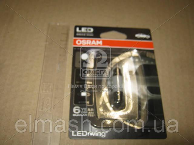 Лампа светодиодная C5W 6000K 12V 1W SV8.5-8 LEDriving Premium