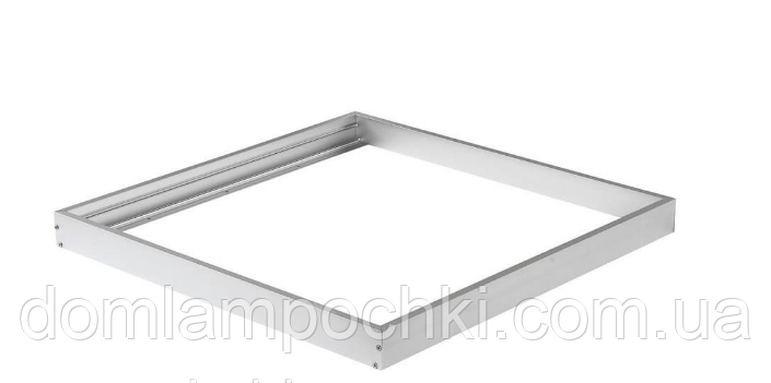 Накладная рамка для LED панели 600х600