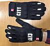 Зимние утепленные черные мото перчатки с защитой City, фото 6