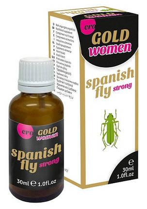 Возбуждающие капли Spanish Fly Gold Strong Women, 30 мл, фото 2