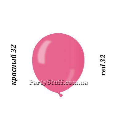 Воздушные шарики Gemar АМ50 металлик КРАСНЫЙ